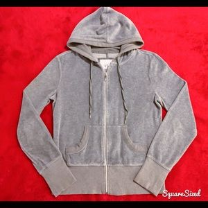 Like New! Victoria's Secret VSX Velour Hoodie